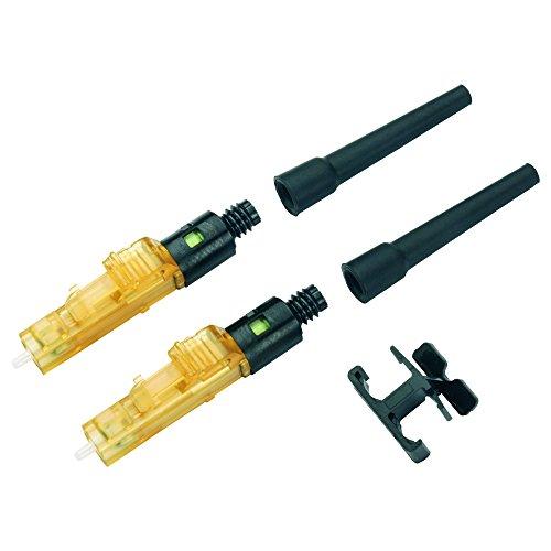 (Panduit FLCDMC5BLY Multi-Mode Fiber Optic Connector, Black)