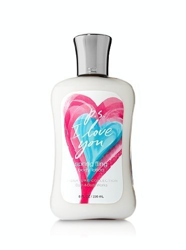 Bath and Body Works Signature Collection P.S. I Love You Spring Fling Body Lotion 8 Oz