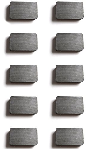 10pk Magnet - Ceramic Rectangle - 1.5 x 1 x ()