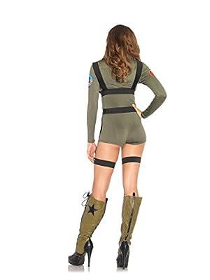 Leg Avenue Women's Top Gun Romper