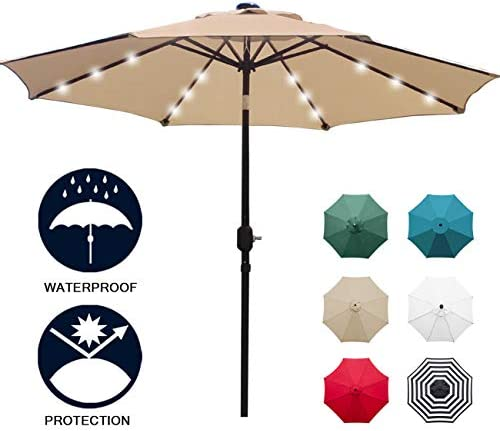 Sunnyglade Lighted Umbrella Adjustment System product image