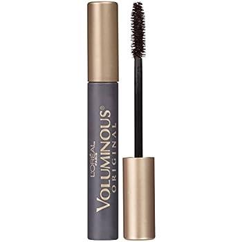 e14093e8e5f L'Oreal Paris Makeup Voluminous Original Volume Building Mascara, Black  Brown, 0.28 fl. oz.