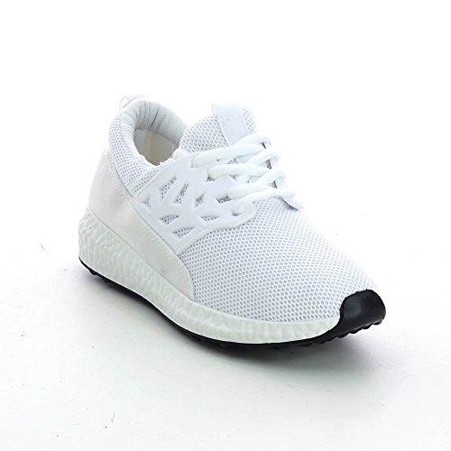 Go Tendance - Zapatillas de Deporte de Material Sintético Mujer blanco