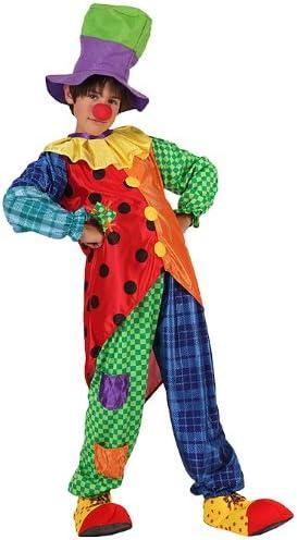 Atosa-6728 Clown Disfraz Payaso, multicolor, 10 a 12 años (6728 ...