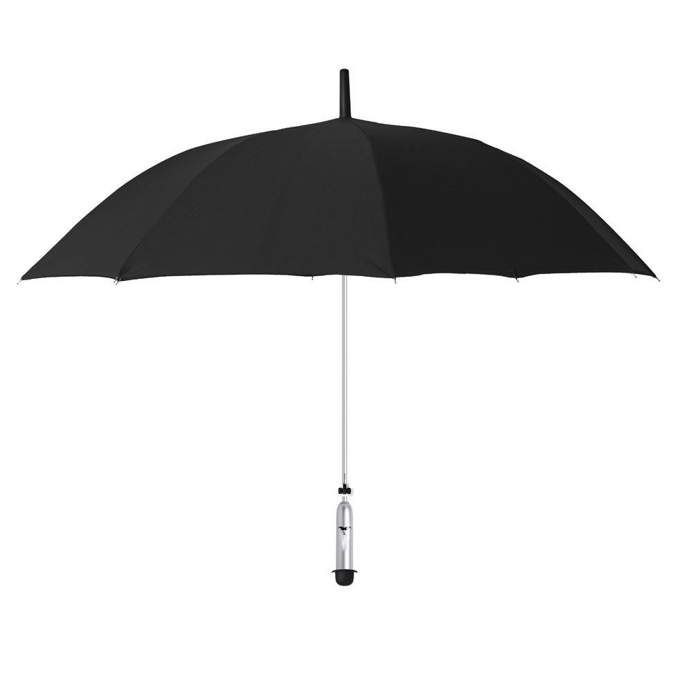 OPUS ONE(オーパスワン) 新しい天気情報を提供するスマート傘 JONAS Black サドルブラック OP001 B01J9YMPWI ブラック ブラック