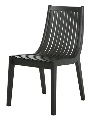 Cheap Impacterra Oslo Side Chair, Wenge Veneer/ Veneer
