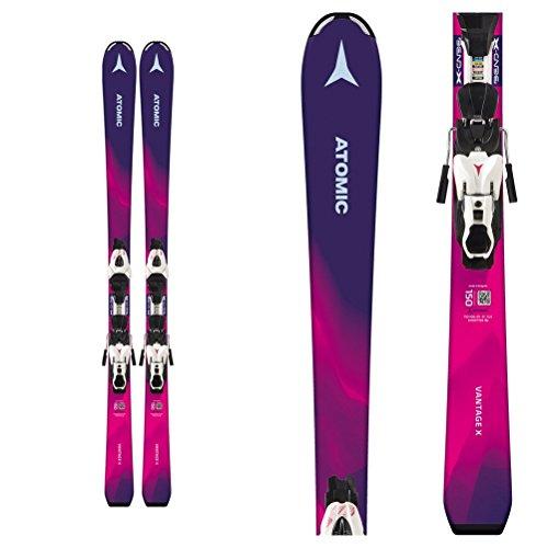 Atomic Vantage Girl X 5 Kids Skis with C5 Bindings 2019-110cm