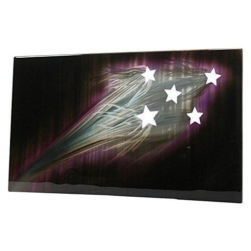 Comet Lighting (Shooting Stars Galaxy Painting Aluminum Art Backlit Panel)