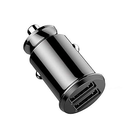 DYHM cargador inalámbrico coche Mini Cargador de coche USB ...