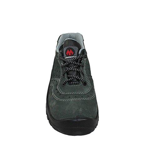 AIMONT - Calzado de protección de Piel para hombre Verde - verde