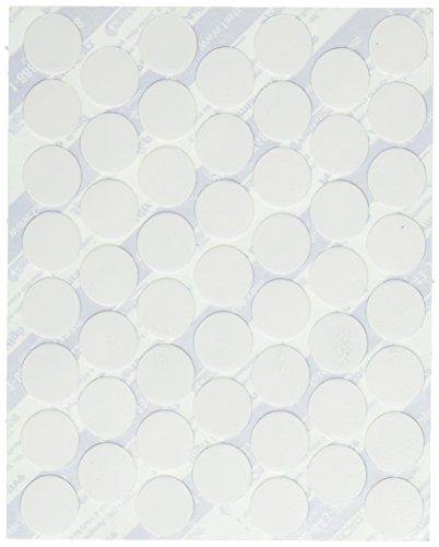 Fastcap Adhesive Cover Caps PVC, White - Fastcap Adhesive Cover Caps