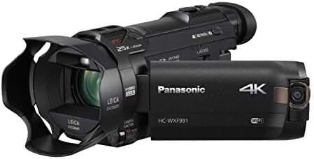 Panasonic HC-WXF991K 4K Ultra HD Camcorder with Wi-Fi, Built with Multi Scene Twin Camera (Black)