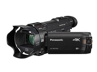 "Panasonic 4K Cinema-Like Video Camera Camcorder HC-WXF991K, 20X Leica DICOMAR Lens, 1/2.3"" BSI Sensor, 5-Axis Hybrid O.I.S, HDR Mode, EVF, WiFi, Multi Scene Video Recording (Black) (B01A60T3R4) | Amazon price tracker / tracking, Amazon price history charts, Amazon price watches, Amazon price drop alerts"