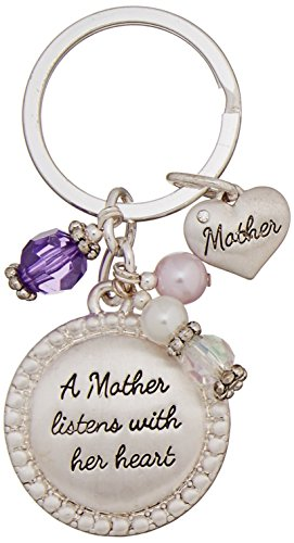 Expressively Yours Sentiment Keychain, Mother, One Size