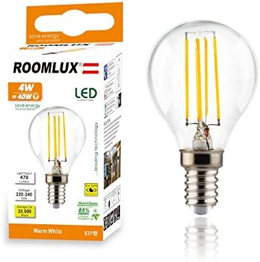 6pcs Roomlux e14 4W P45,470 lúmenes 2700K,bombillas led, bombilla ...