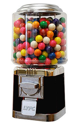 Classic Candy & Gumball Machine (Black)