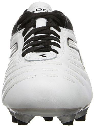 Diadora Fußball Herren Maracana L Fußballschuh Weiß schwarz