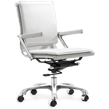 Zuo Modern Lider Plus Office Chair, White