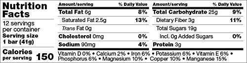 Skout Organic Energy Bar, Peruvian Chocolate Coconut, 12 Bars by Skout Backcountry (Image #7)