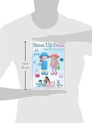 Hailey Doll amigurumi dress up doll crochet pattern with 3 | Etsy | 400x300