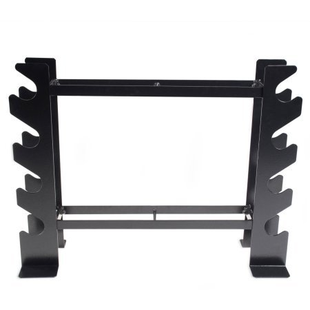 500 lb weight capacity Dumbbell and Fitness Accessory Storage Rack in Black by CAP