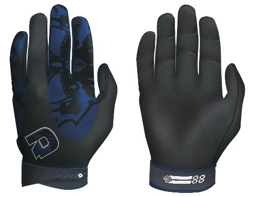 DeMarini Voodoo Batting Glove, Navy, X-Large