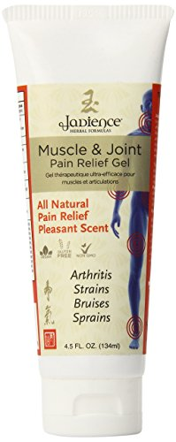Jadience Joint & Muscle Pain Relief Gel - 4.5 Oz - Immediate Recovery of Repetitive Strain Injury & Advanced Pain Management