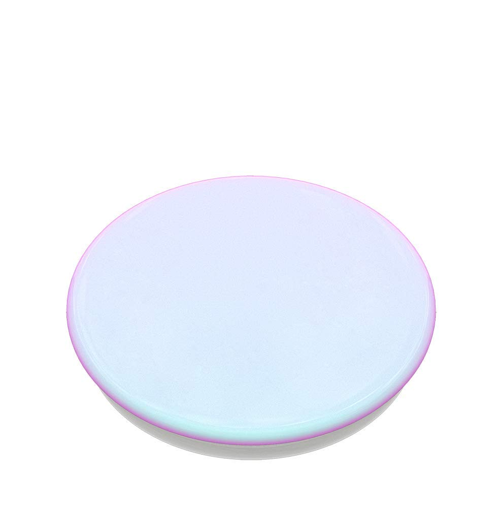 PopSockets PopGrip Color Chrome Mermaid White Swappable Grip for Phones /& Tablets