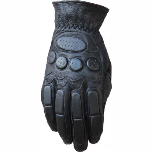 New Motorcycle Men's Lamb Leather Gloves 802 (L)