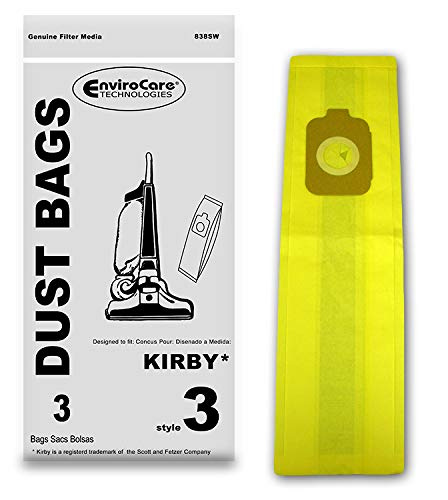 (EnviroCare Replacement Vacuum Bags for Kirby Style 3 Heritage II Series Uprights 3)