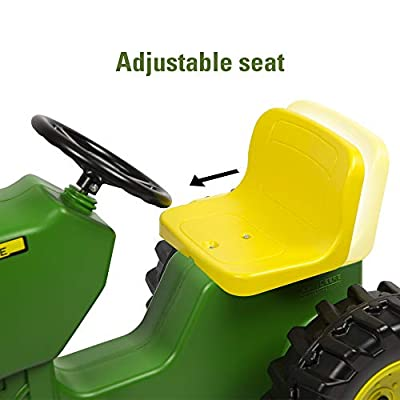 John Deere Pedal Tractor, Ride on Tractor Toy: Toys & Games