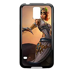 Cassiopeia-002 League of Legends LoL For Case Iphone 4/4S Cover - Plastic Black