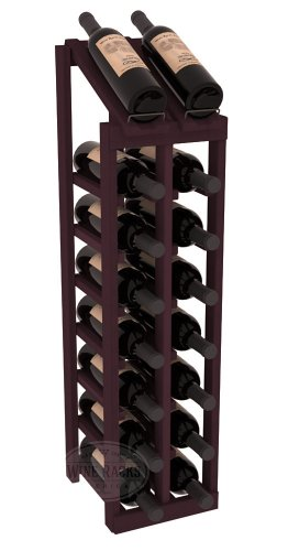 Wine Racks America Redwood 2 Column 8 Row Display Top Kit. 13 Stains to Choose From! For Sale