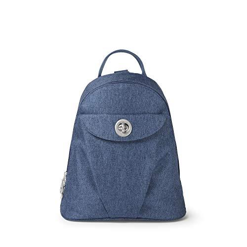 (Baggallini Dallas Convertible Backpack (Steel)
