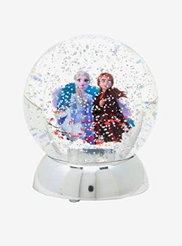 Hot Topic Disney Frozen 2 Anna Elsa Olaf Snow Globe