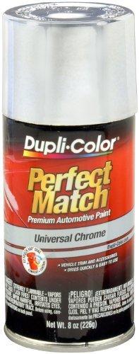 Dupli-Color  BUN0200 Universal Chrome Exact-Match Automotive Paint - 8 oz. Aerosol Color: Universal Chrome Size: 8 Ounce Aerosol Model: BUN0200 Car/Vehicle Accessories/Parts (1) (1967 Chevy Impala Station Wagon For Sale)