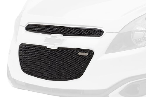 T-Rex 51129 Upper Class Steel//Black Finish Small Formed Mesh Overlay Kit for Chevrolet Spark