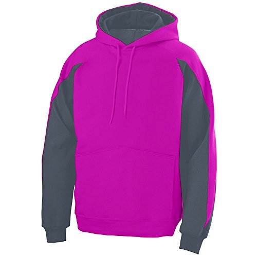 STYLE 5460 - VOLT HOODY PINK/GRAPHITE 3X by