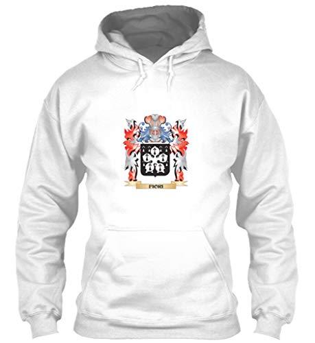 Fiori Coat arms XL - White Sweatshirt - Gildan 8oz Heavy Blend Hoodie
