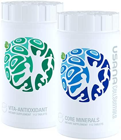 USANA CellSentials triple action cellular nutrition system: Core Minerals and Vita