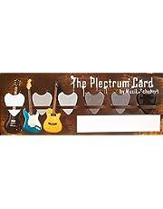 Jim Dunlop 442 nylon standard spelarset plektrum 0,38–1,00 mm (6 stycken)