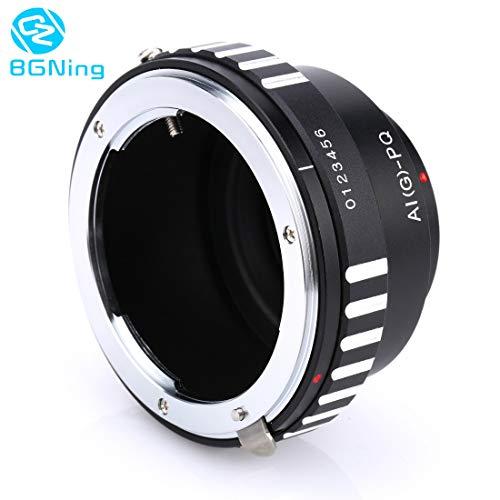 - Lens Camera Lens Adapter Ring Ai(G)-Pq Parts for Nikon Ai D G Aid Lens to for Pentax Q Pq P/Q Q10 Q7 Camera Mount Adapter - (Caliber: Ai G to Pq)