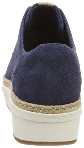 Zapatos Brogue Clarks Teadale Cordones de Azul Suede Mujer Rhea Navy para qTw4gTxE1