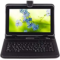 Ikall N5 Tablet (7 inch, 16GB, 4G + LTE + Voice Calling), Black with Keyboard