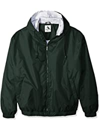 Unisex-Adult Hooded Taffeta Jacket/Fleece Lined