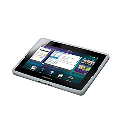Blackberry Research In Motion Pure White Translucent Silicone Skin For  Playbook Tablet (Acc-39313-302)
