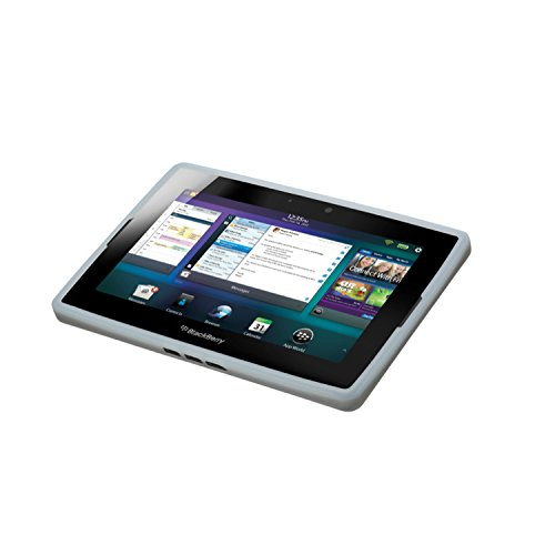 Research in Motion Pure White Translucent Silicone for BlackBerry Playbook Tablet (ACC-39313-302) Blackberry Playbook Silicone Case