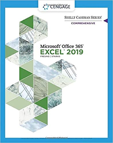 Shelly Cashman Series Microsoft Office 365 & Excel 2019 Comprehensive