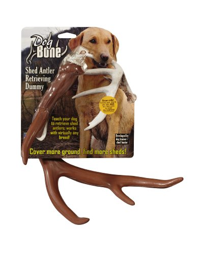 Dog Bone Shed Dummy Retrieving Antler, Brown ()