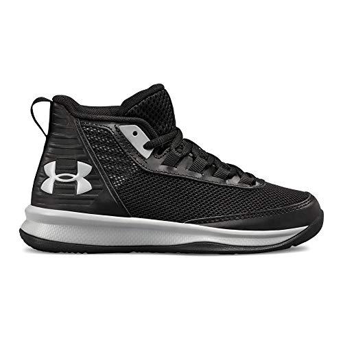 Under Armour Boys' Pre School Jet 2018 Basketball Shoe, 002/Black, 13.5K M US Little Kid